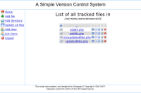 A Simple Version Control System
